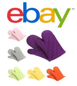 ebay oven mitts